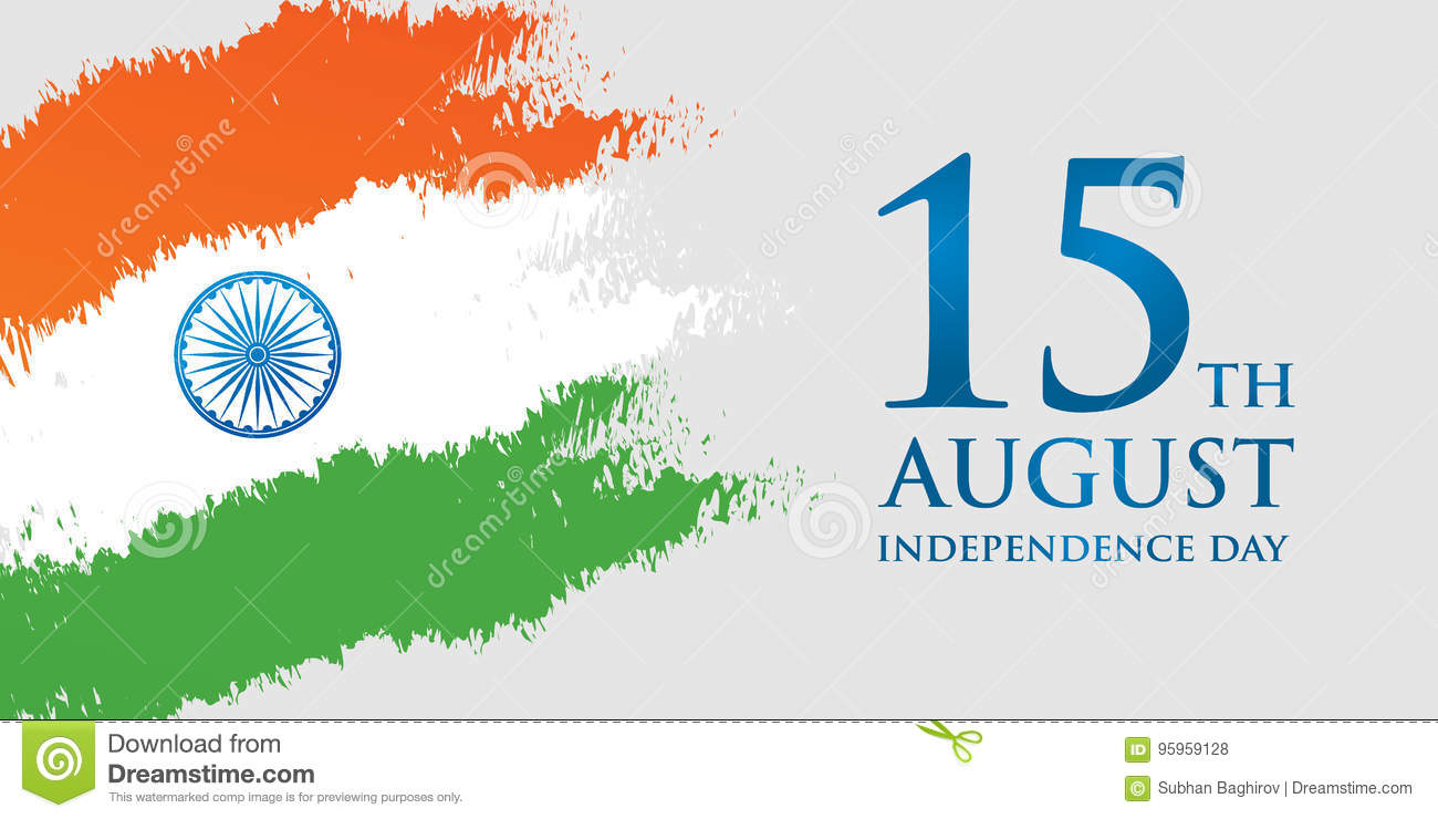 Happy India Independence Day Independence Day Greeting Card India