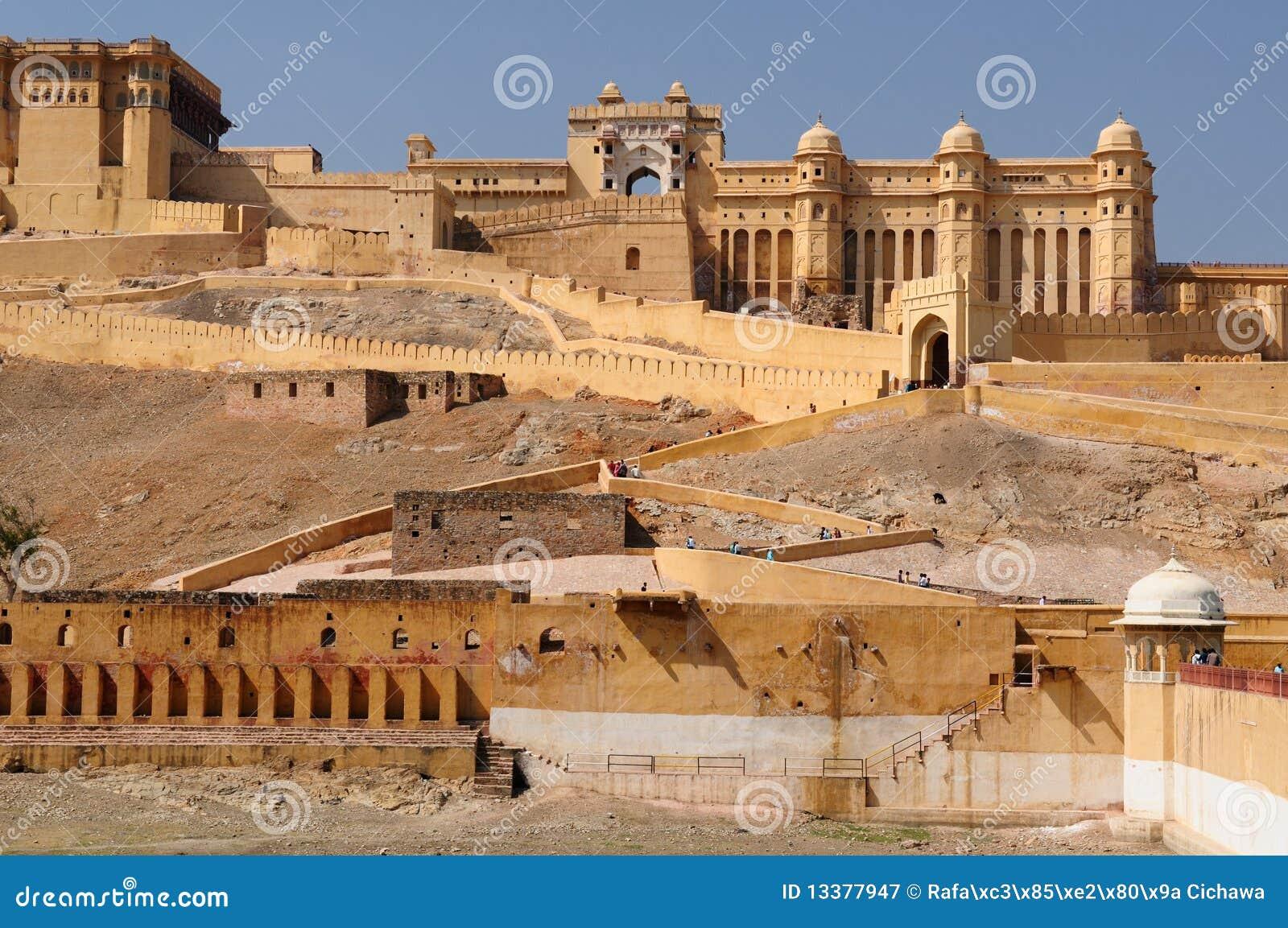 India, Jaipur, AmberFort