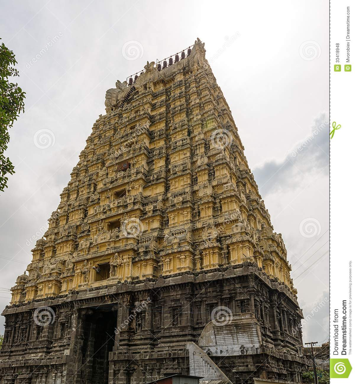 Kanchipuram India  city pictures gallery : India, kanchipuram, Ekambareswarar temple. See my other works in ...