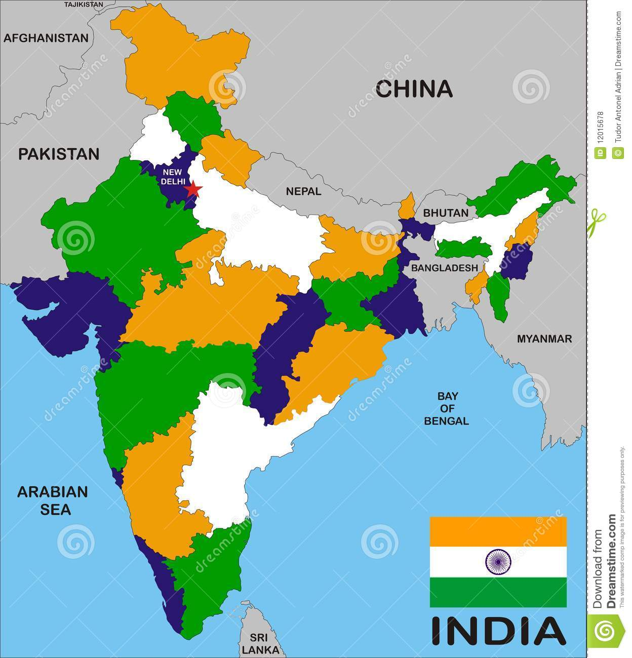 India Map Download India map stock illustration. Illustration of nepal, china   12015678 India Map Download