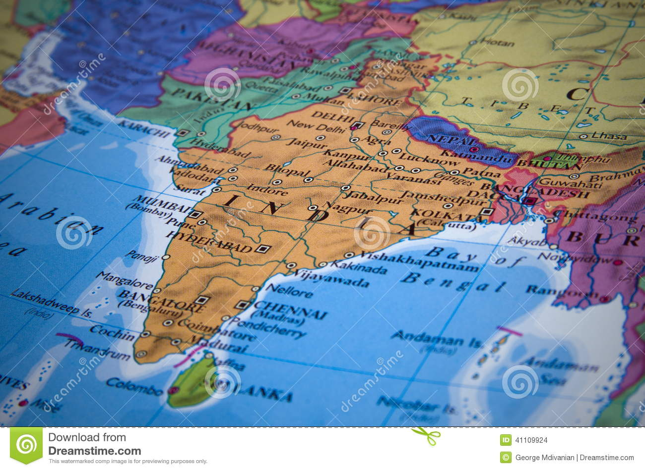 India map stock photo image of state continent blue 41109924 gumiabroncs Image collections