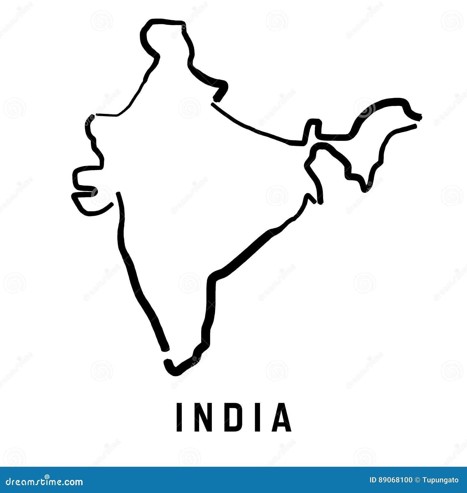India Map Stock Illustration. Illustration Of Logo