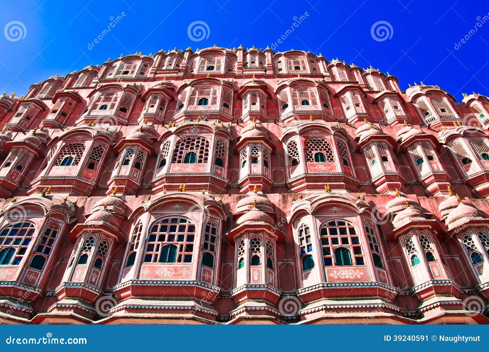 India. Rajasthan, Jaipur, Palace of Winds