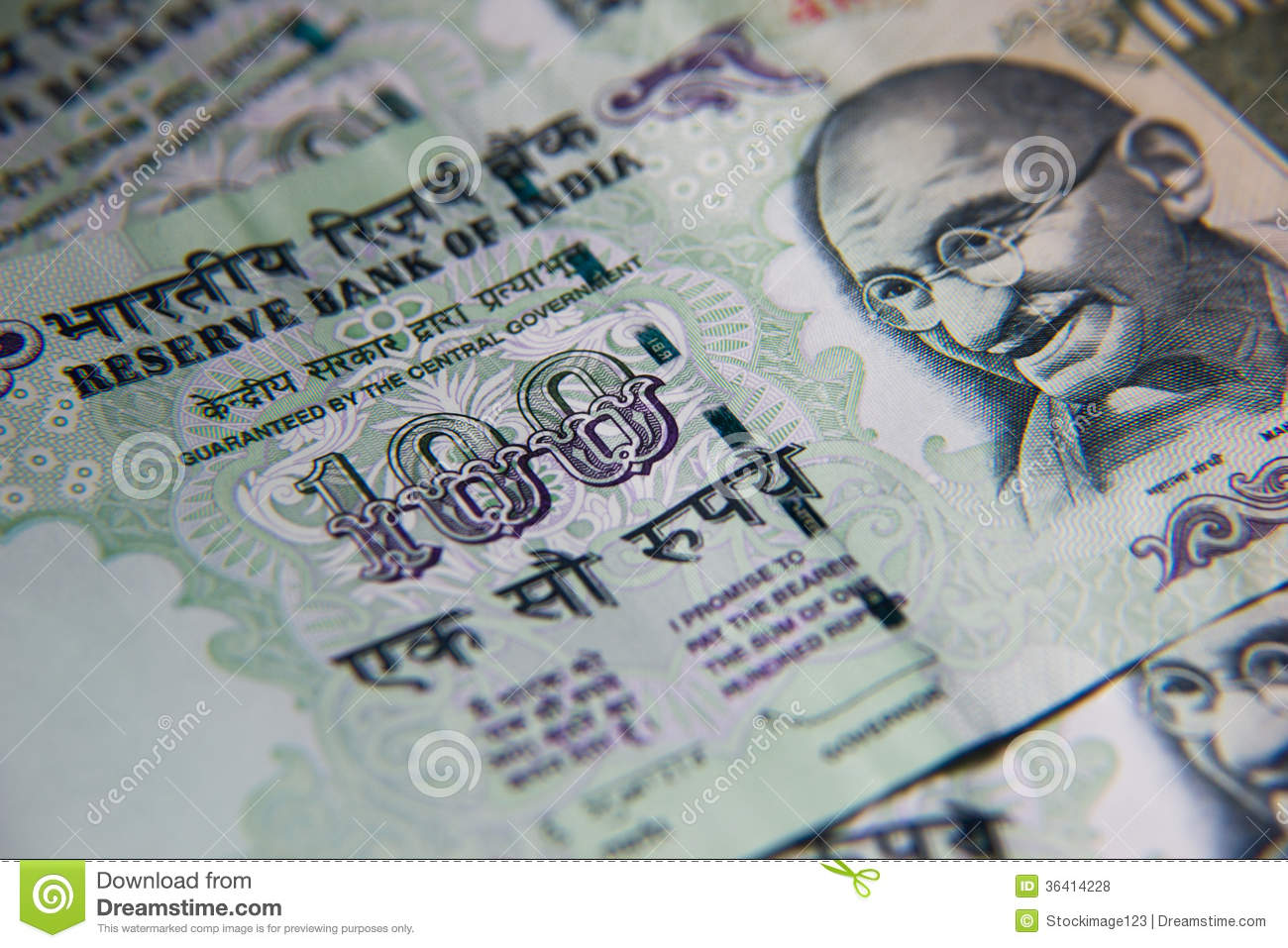 India Rupees stock photo  Image of government, investment
