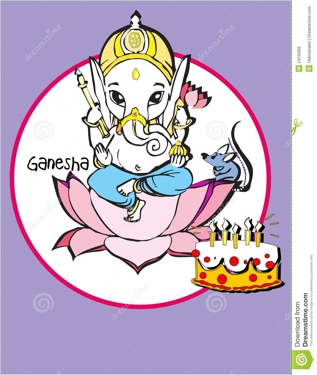India Series Ganesh Photos Image 2416583 – Indian Birthday Cards