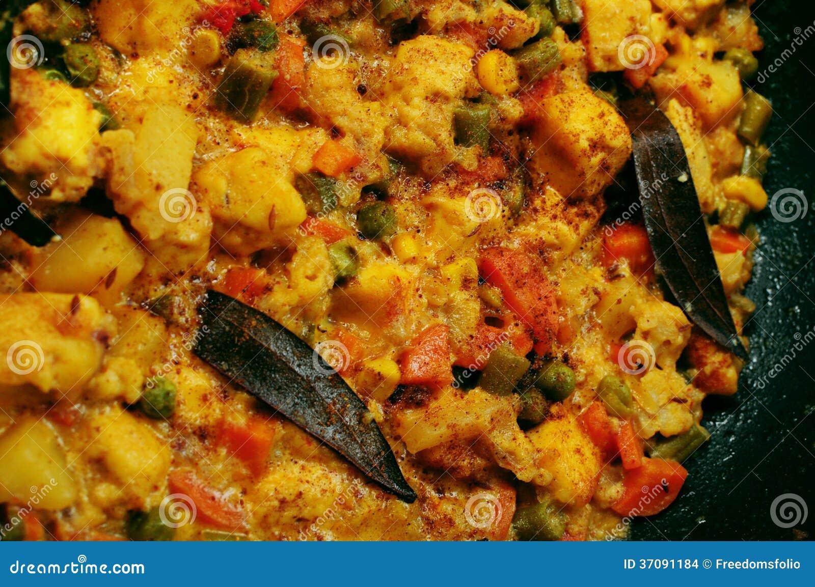 Download Indiański Mieszanek Warzyw Paneer Curry Zdjęcie Stock - Obraz złożonej z północ, gotujący: 37091184