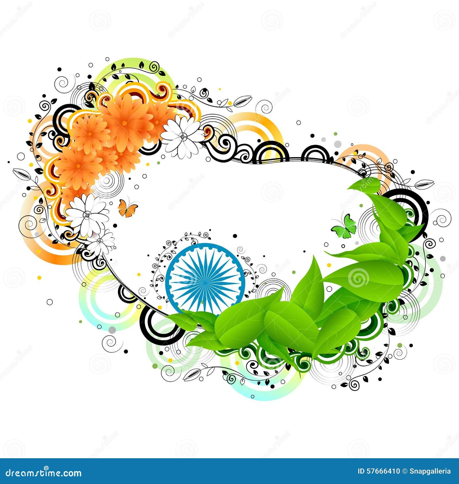 India tło