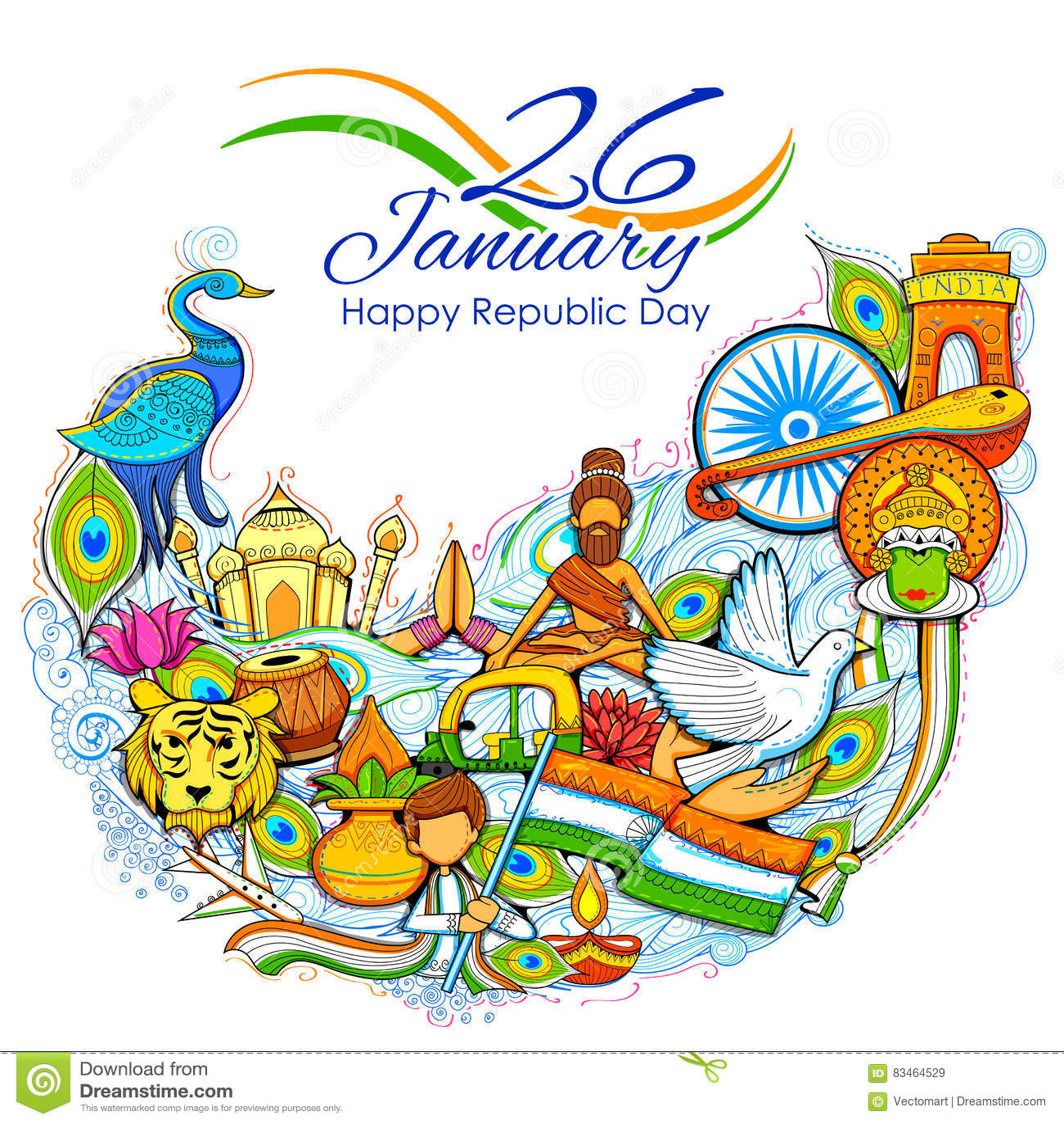 India tło pokazuje swój kulturę nieprawdopodobną różnorodność z zabytkiem i, festiwal
