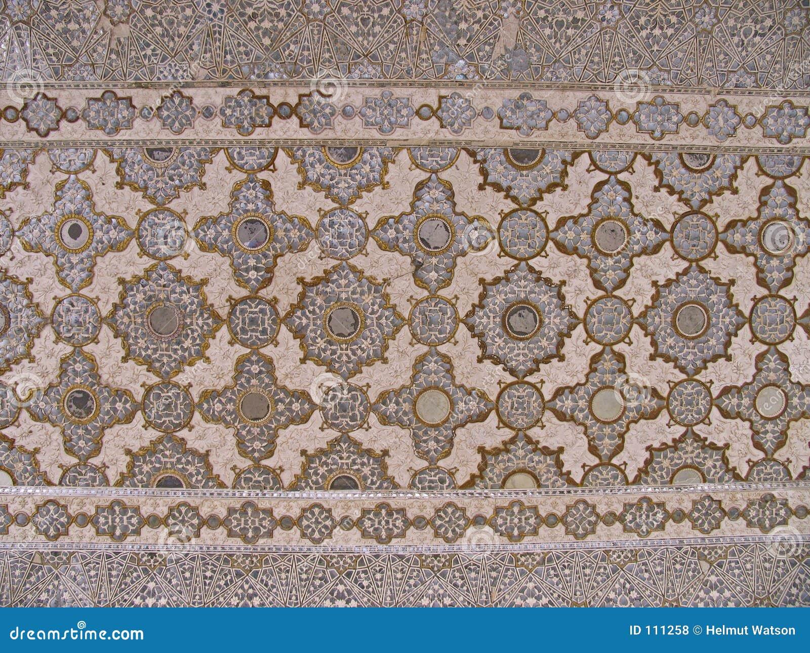 India - teto decorado