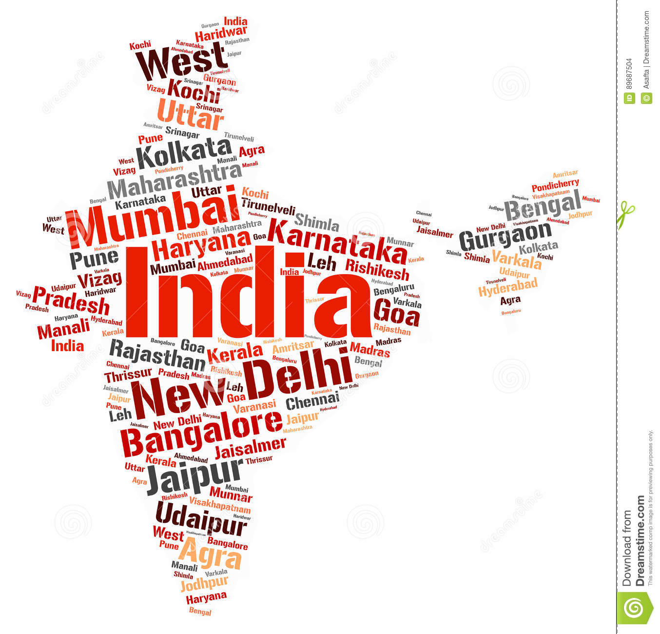 India Top Travel Destinations Word Cloud Stock Illustration ... on word map dubai, word map world, word map italy, word map saudi arabia, word map english, word map language,