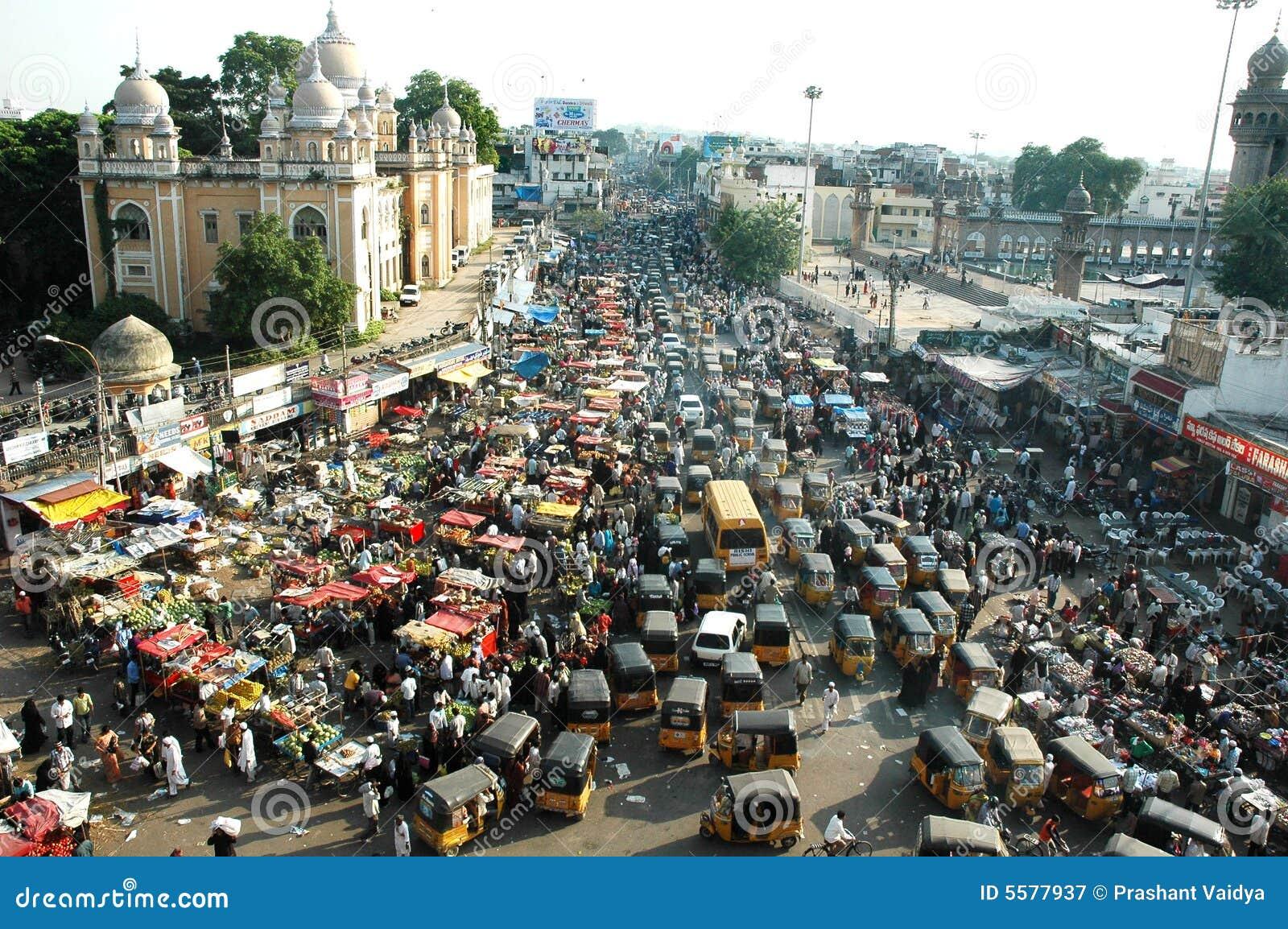 India trafik