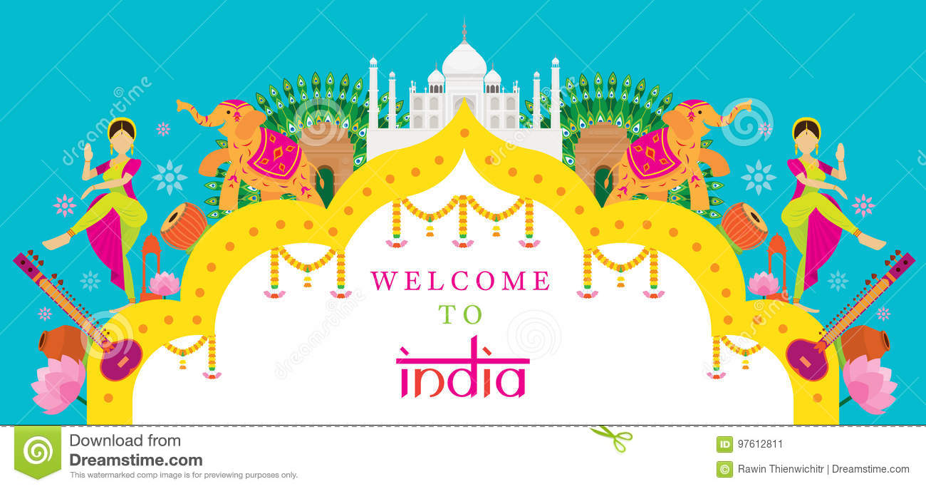 Tourism India Banners Travel Sale Banners
