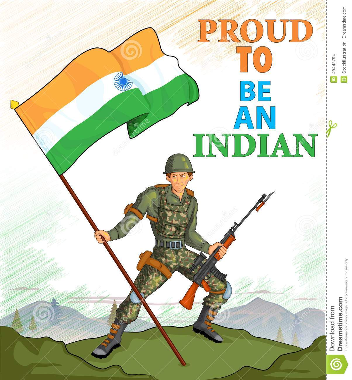 Indian Army Showing Victory Of India Download Preview