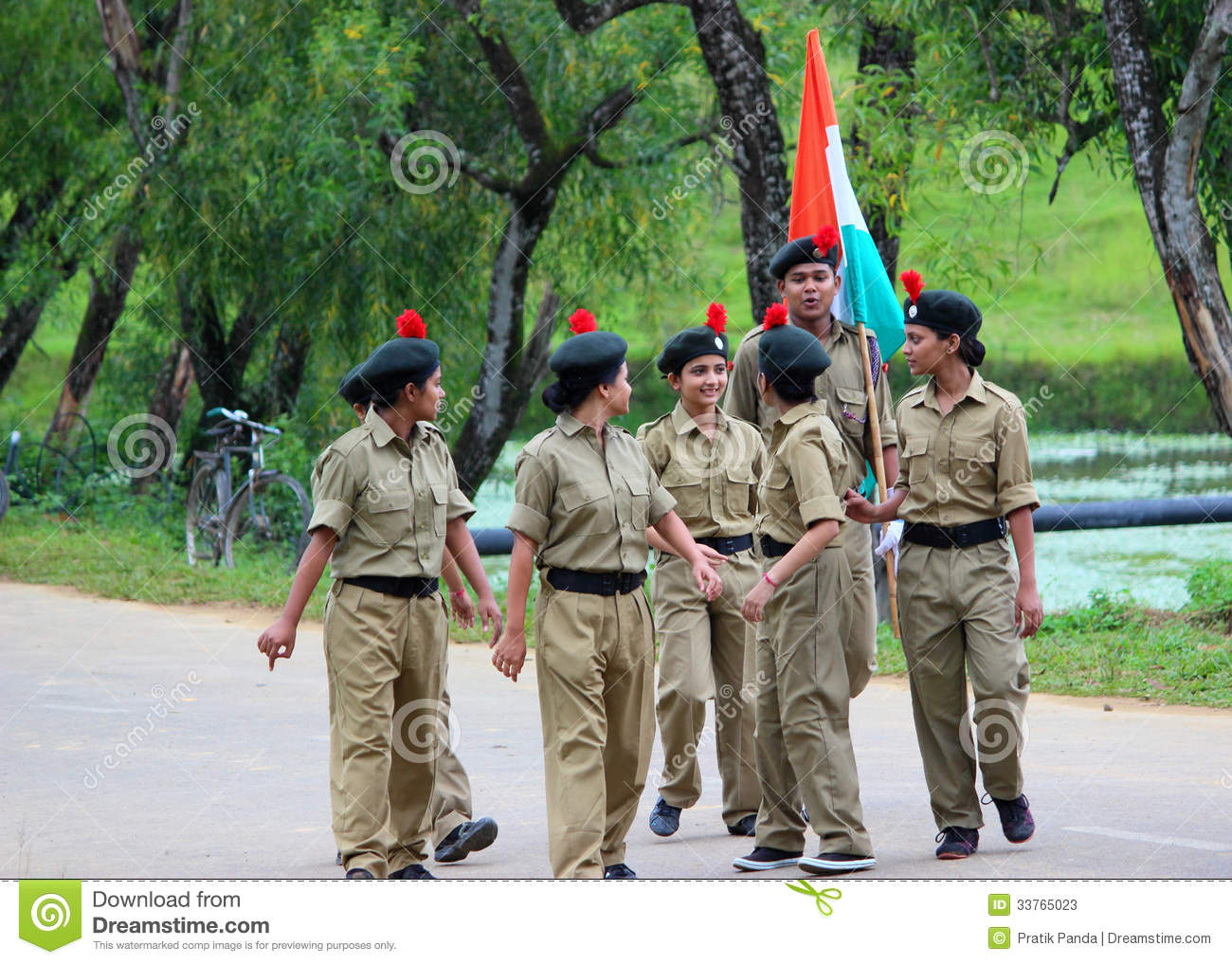 Indian military girls