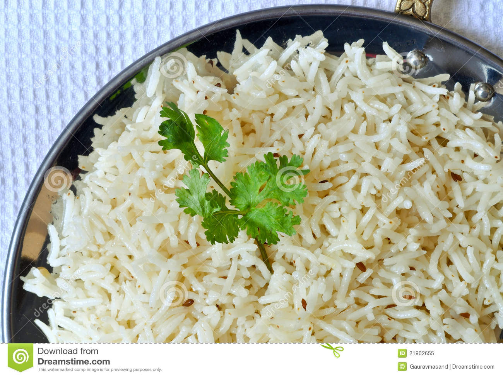 Indian Basmati Rice Royalty Free Stock Photo - Image: 21902655