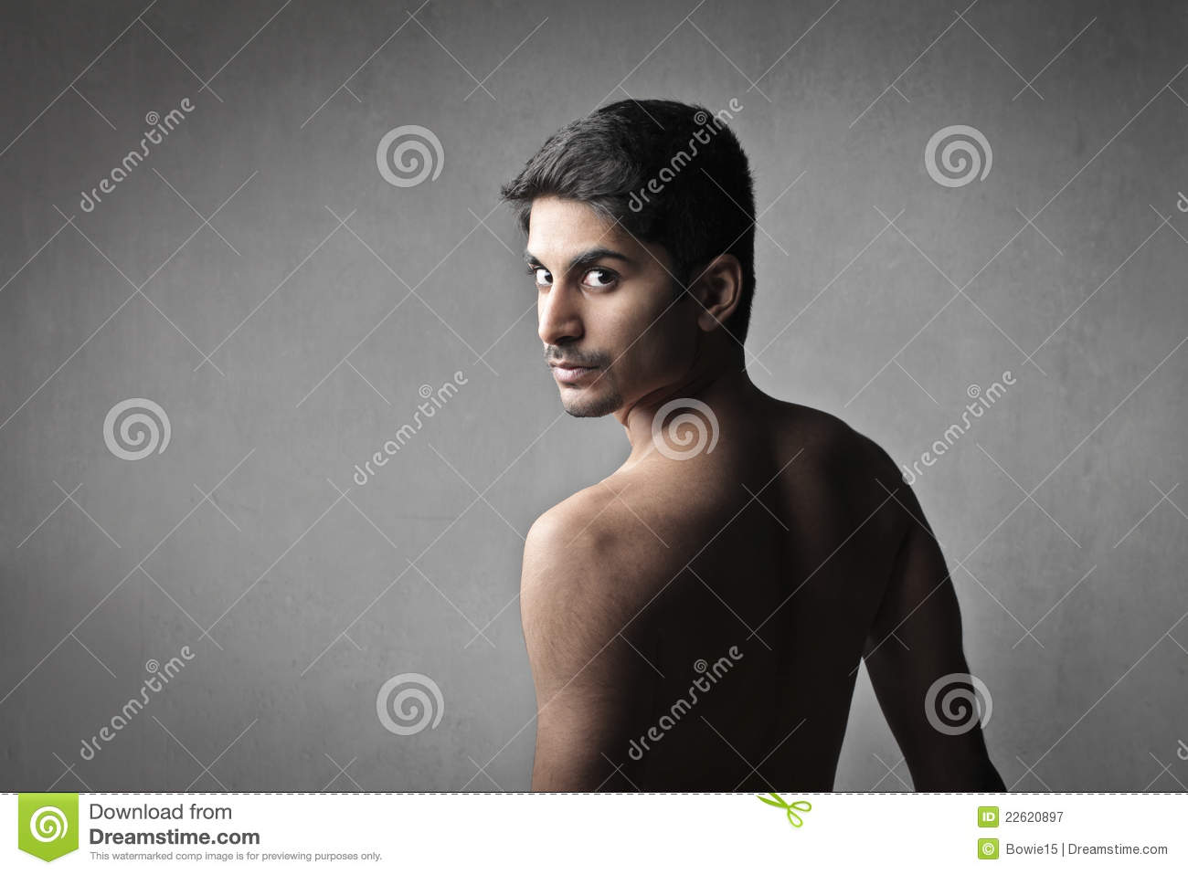 naked hairy indian guy