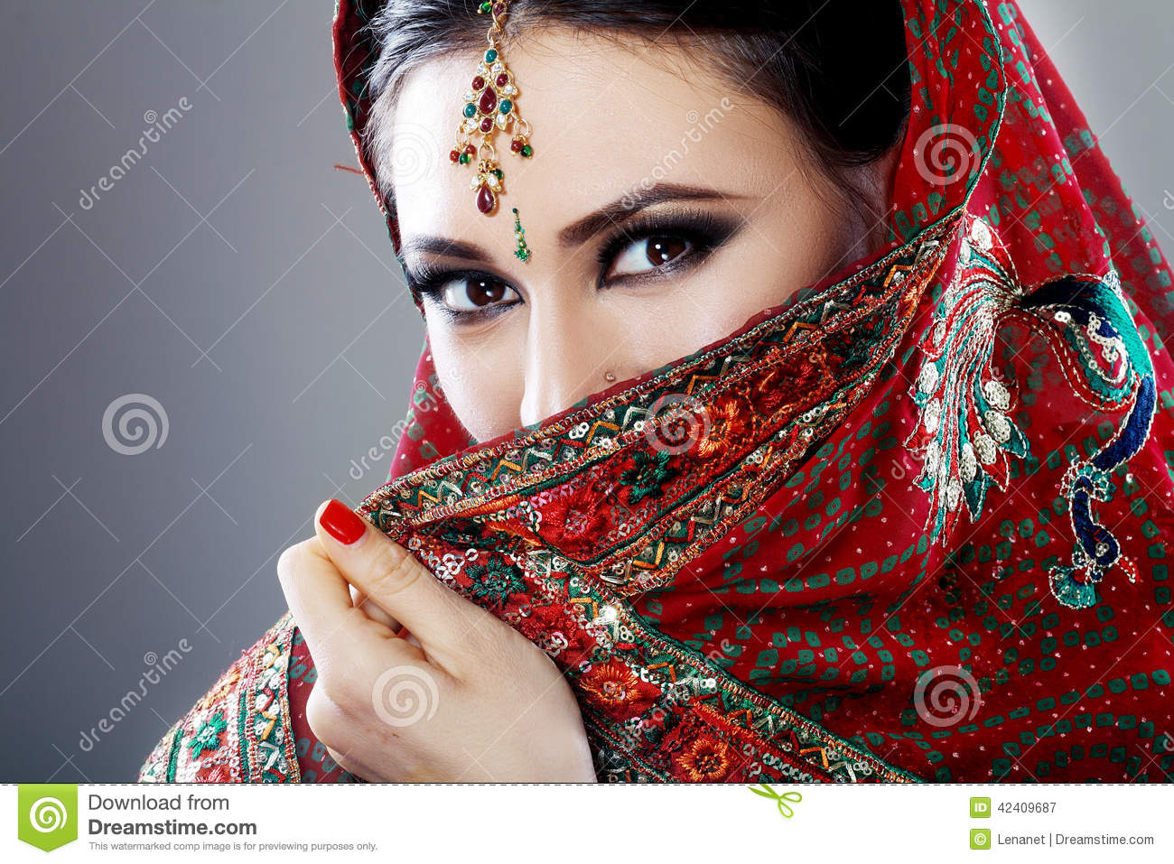 Indian Beauty Stock Image Image Of Gold Bollywood