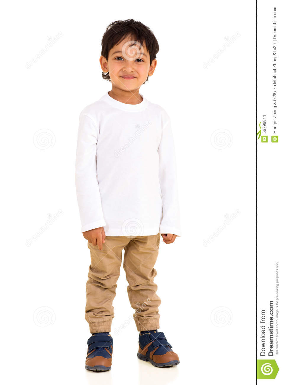 indian boy standing stock image image of little looking