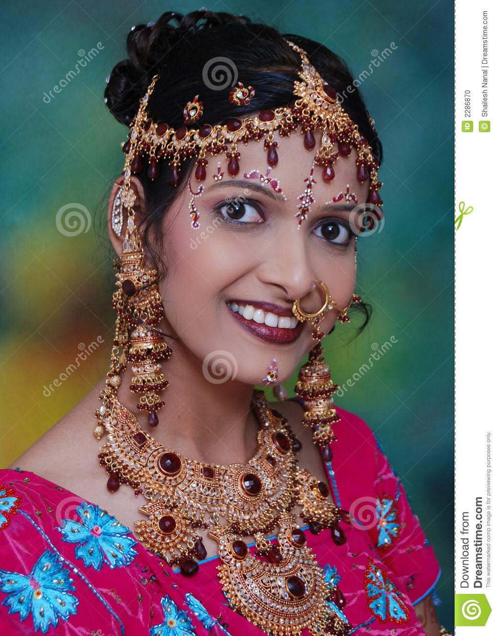 e56bfbd3fb0faf Indian bridal jewelry stock photo. Image of beauty, bridal - 2286870