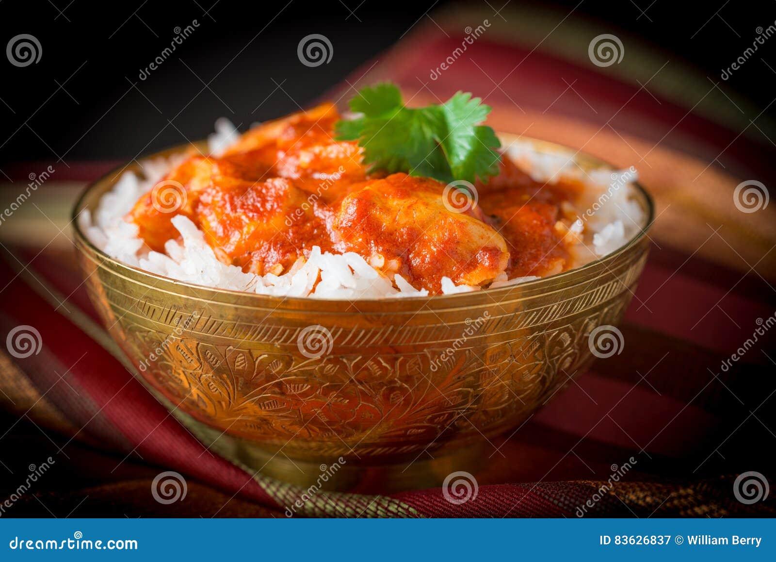 Indian Butter Chicken Closeup