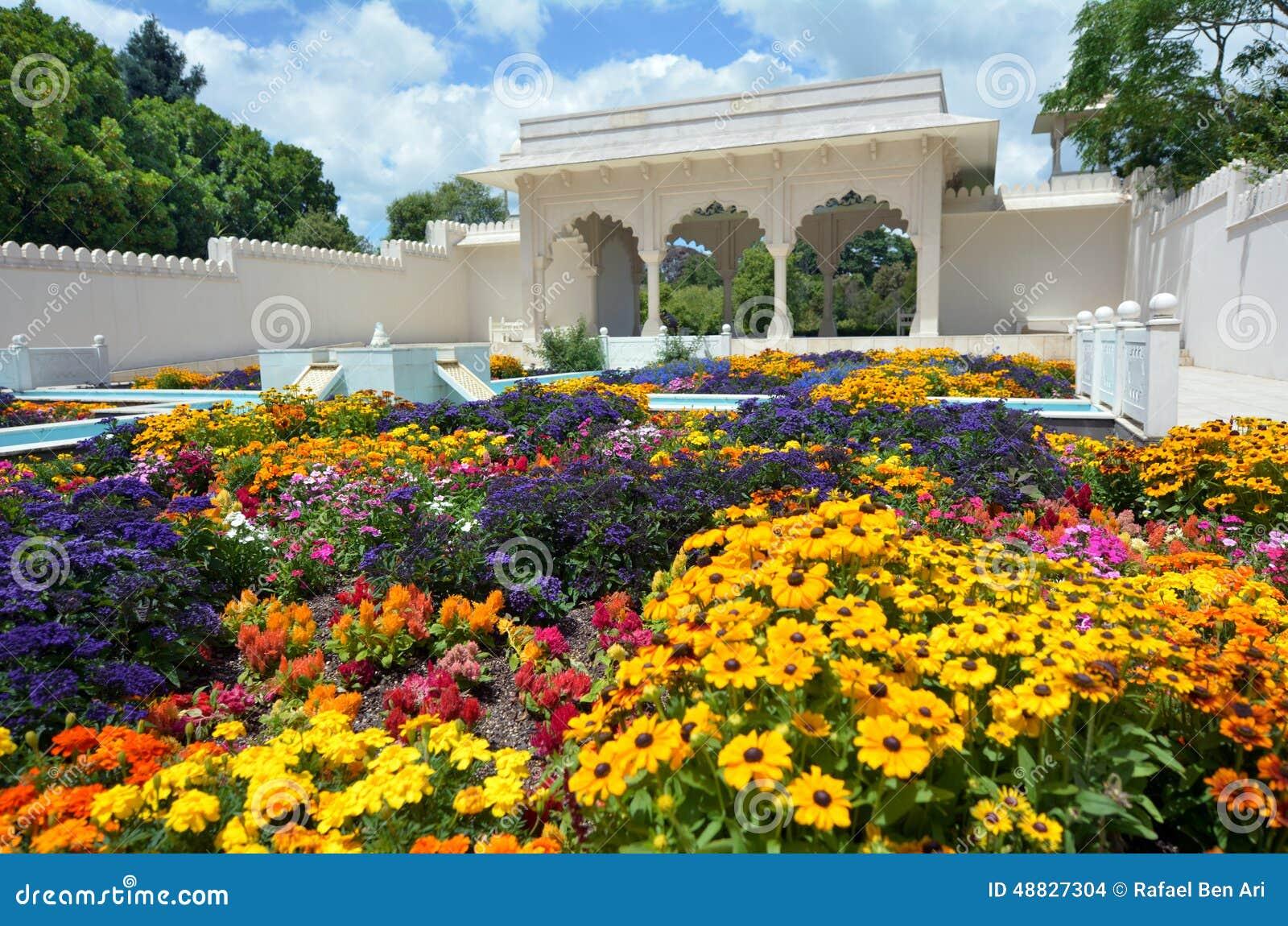 Indian Char Bagh Garden In Hamilton Gardens New Zealand