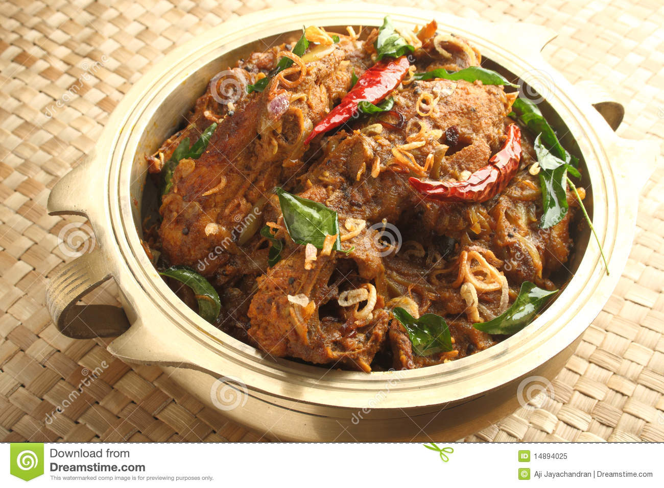 Indian Chicken Curry Royalty Free Stock Photo - Image: 14894025