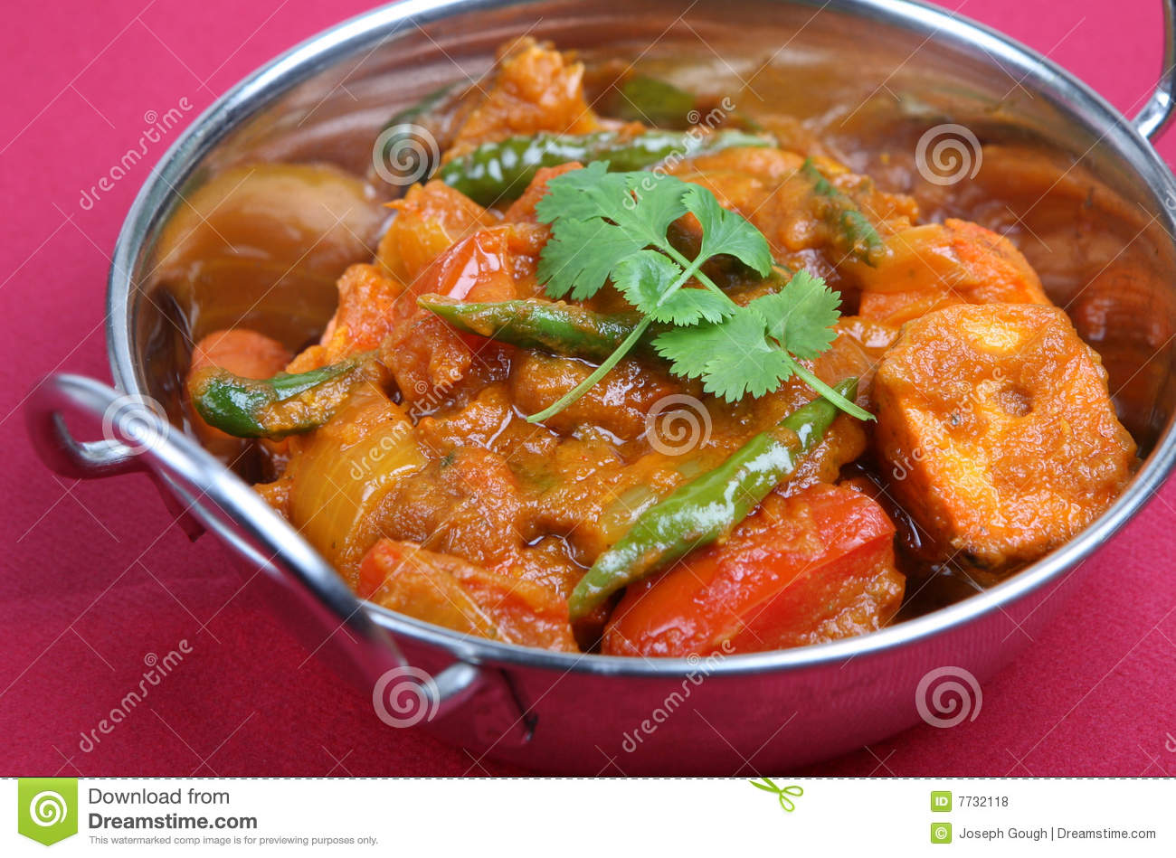 Indian Chicken Curry Royalty Free Stock Photos - Image: 7732118