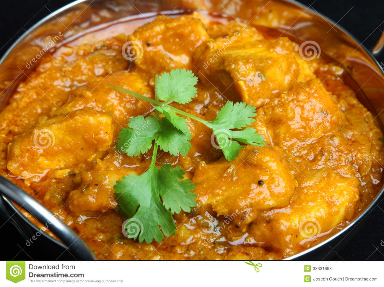 indian chicken curry food stock image image of cuisine 33631693. Black Bedroom Furniture Sets. Home Design Ideas