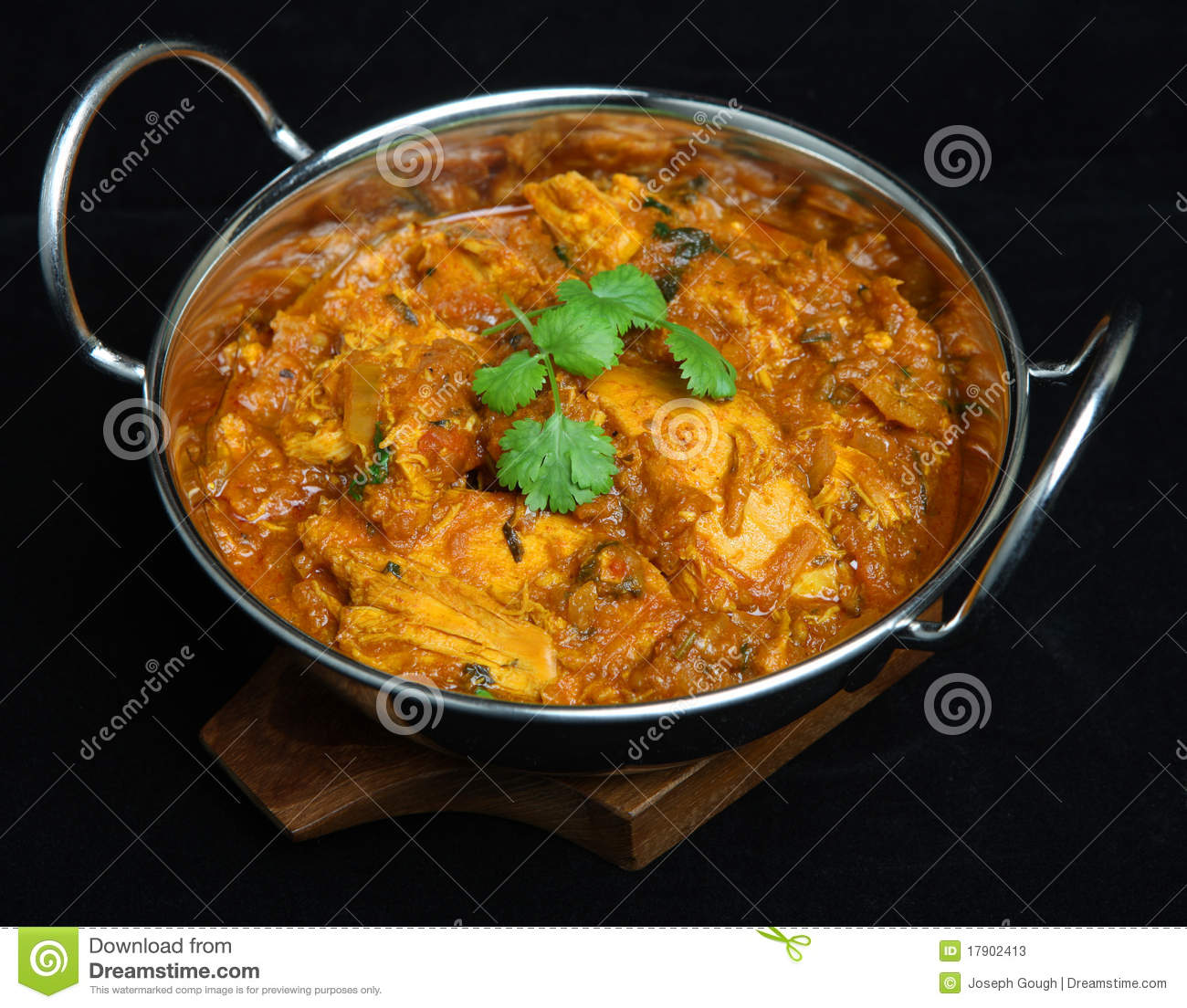 indian chicken rangoon curry food stock photos image 17902413. Black Bedroom Furniture Sets. Home Design Ideas