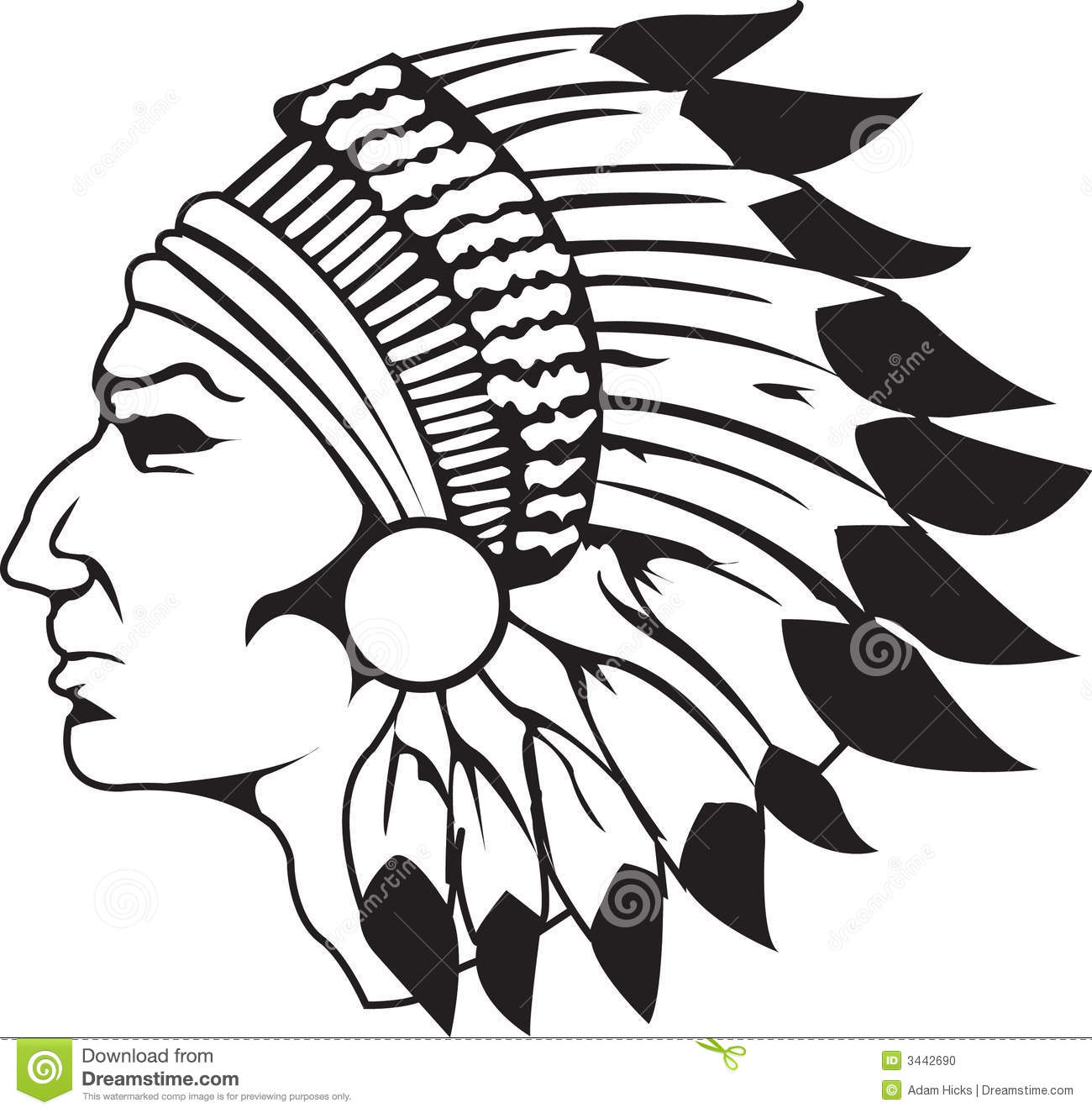 indian chief black and white stock vector illustration indian chief logo 1903 indian chef logos