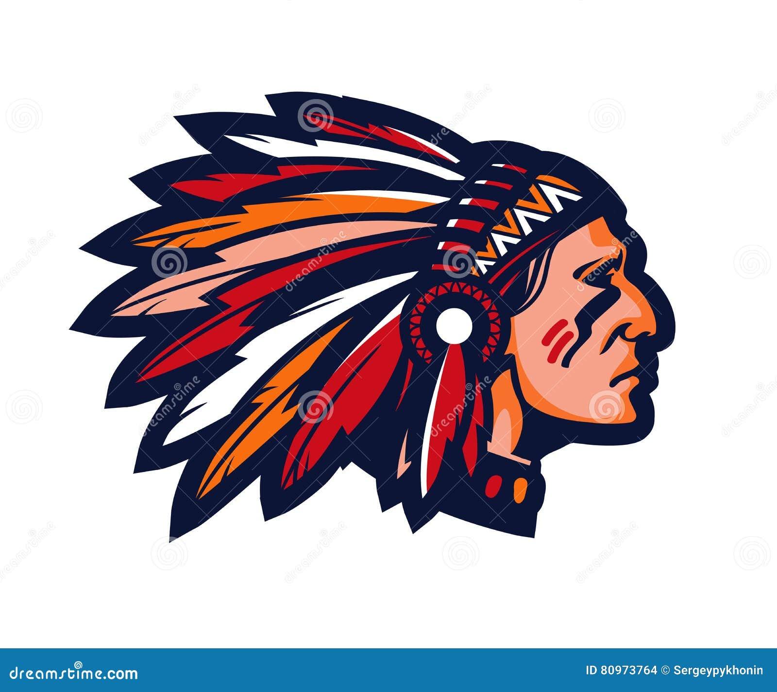 Indian Chief Baseball ... High School Indian Mascot