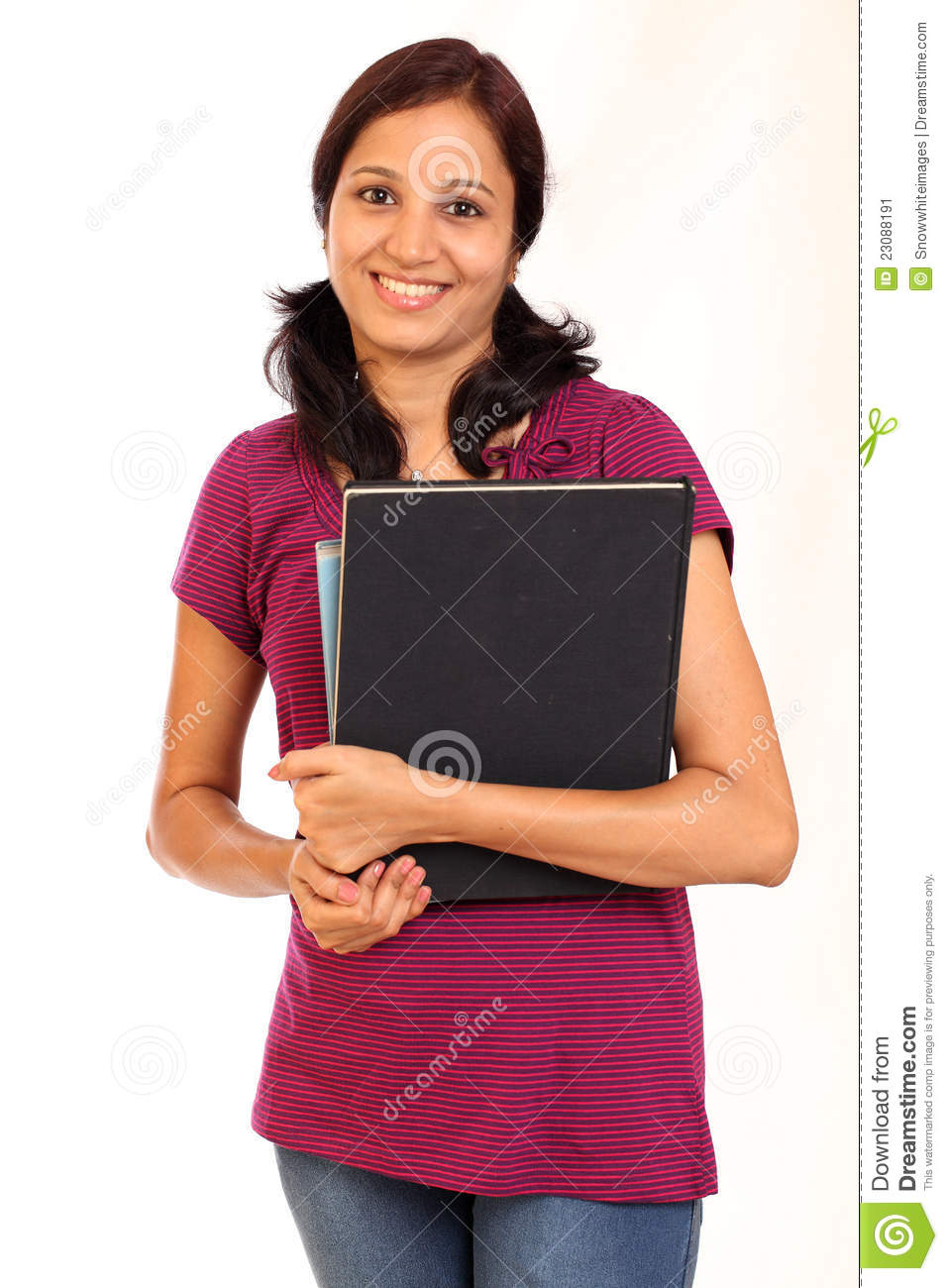 Indian College Student Stock Image - Image: 23088191