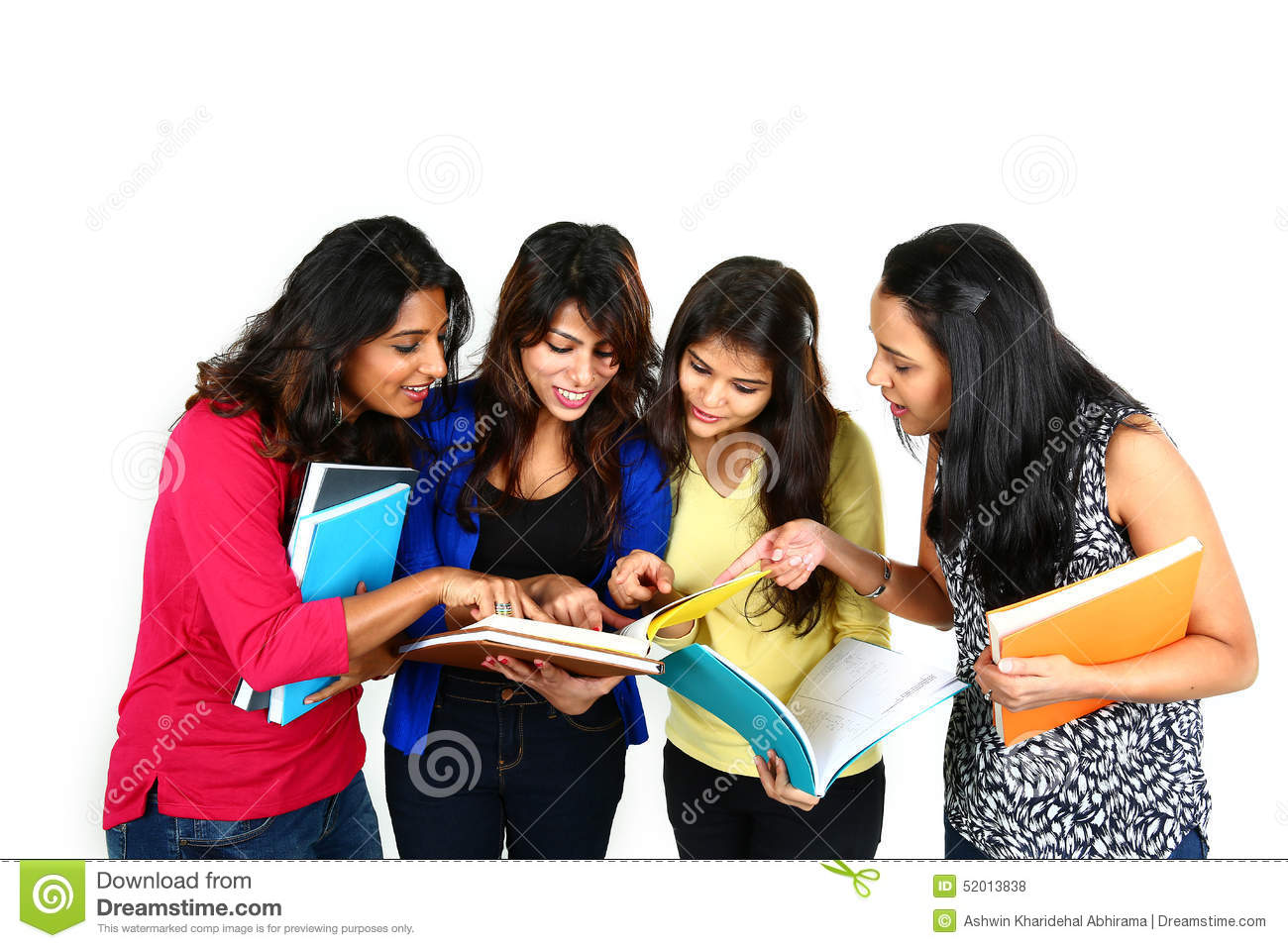 Indian College Student Going To Campus Stock Photography -9464