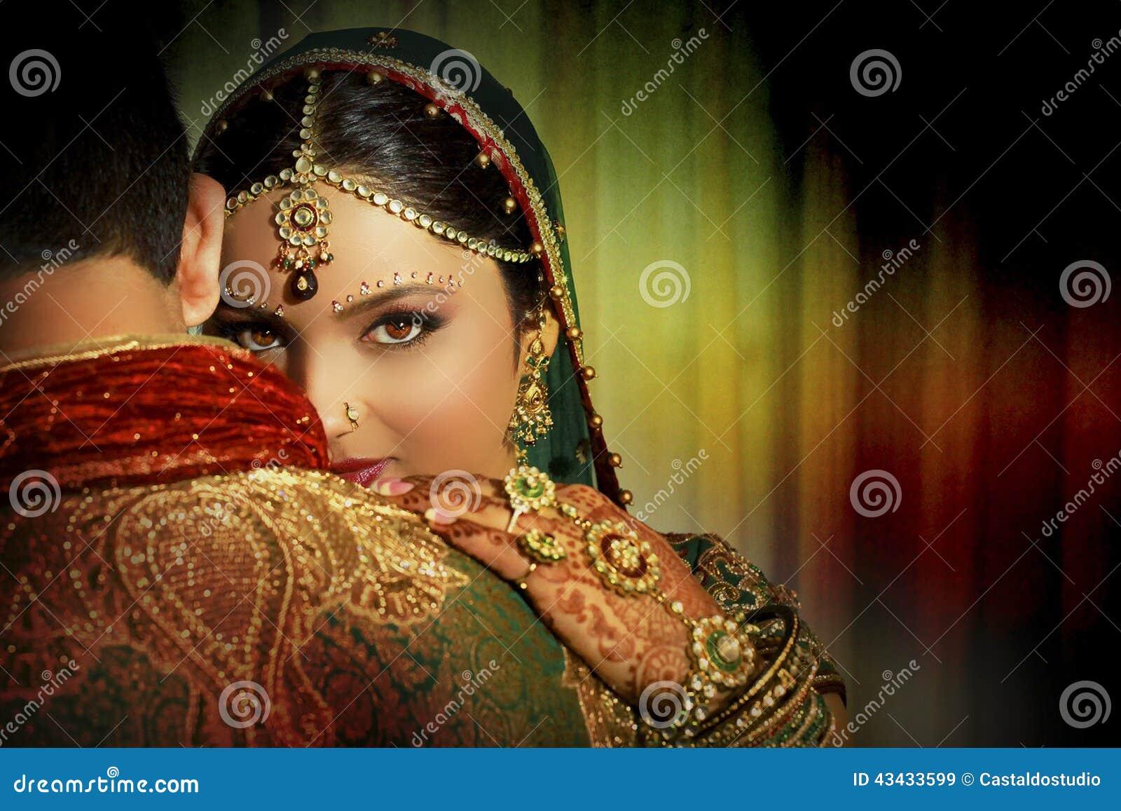 Indian Couple Stock Photo Image 43433599