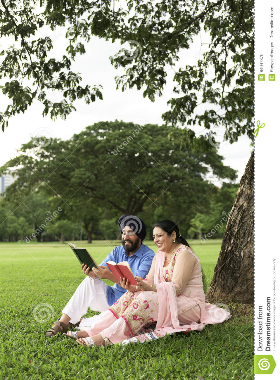 indian couple love care concept stock photo - image of picnic