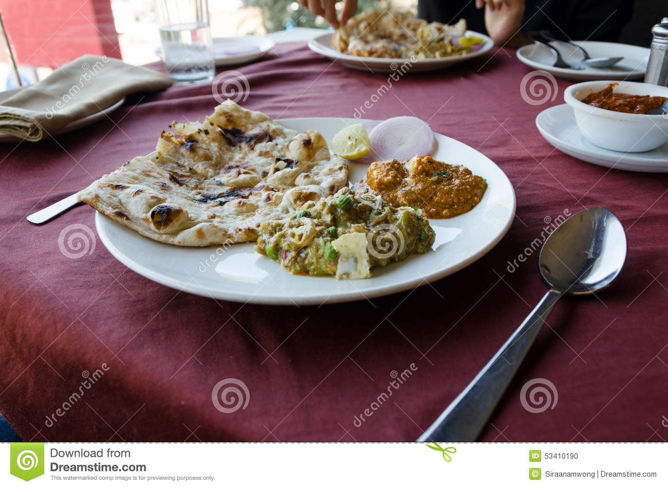 Indian cuisine stock photo image 53410190 for Artisan cuisine of india