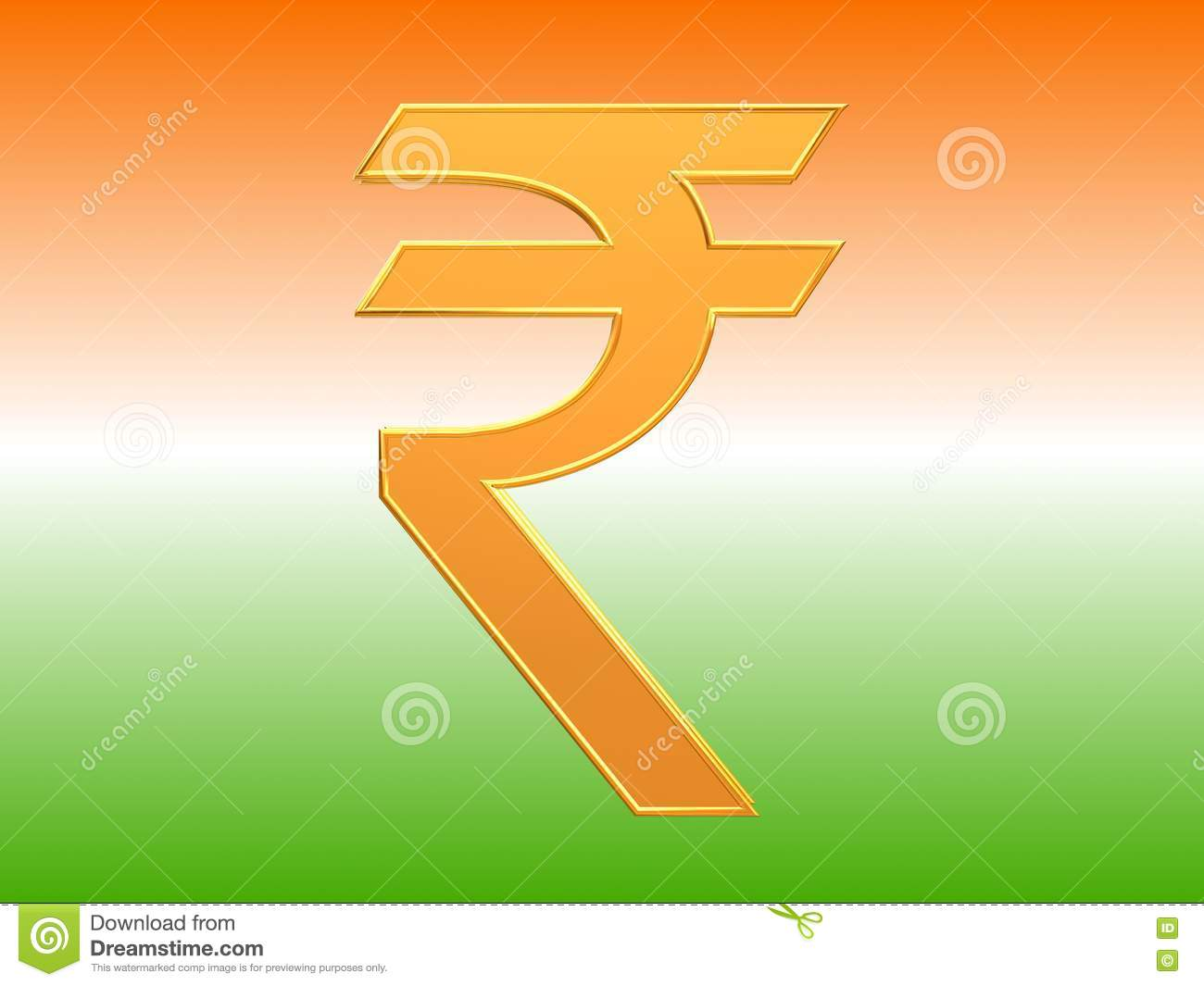 Indian currency rupee symbol design stock illustration indian currency rupee symbol design rupees deccan biocorpaavc Choice Image