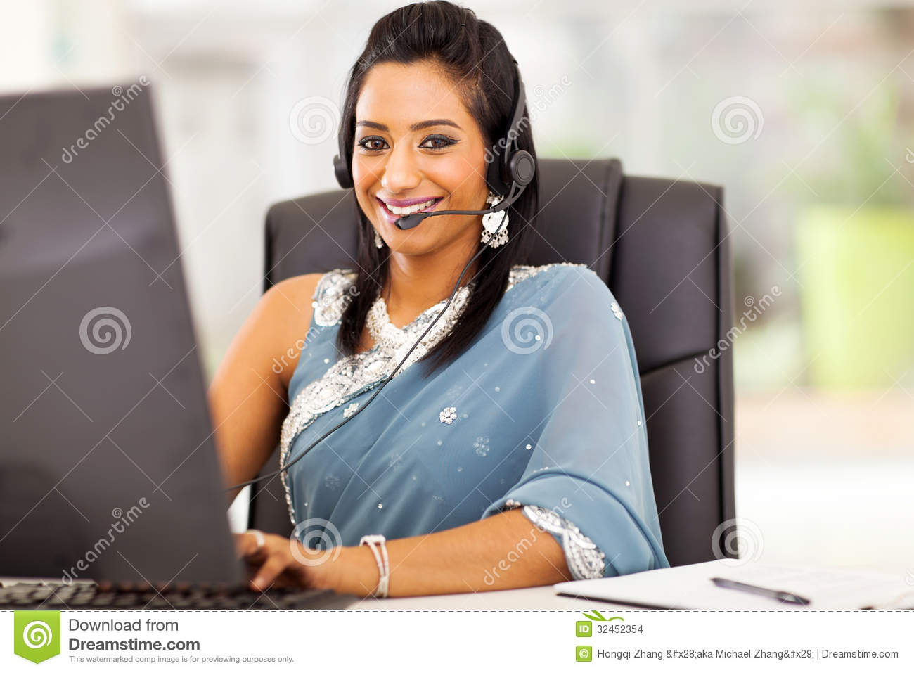 Indian Customer Service Stock Images Image 32452354