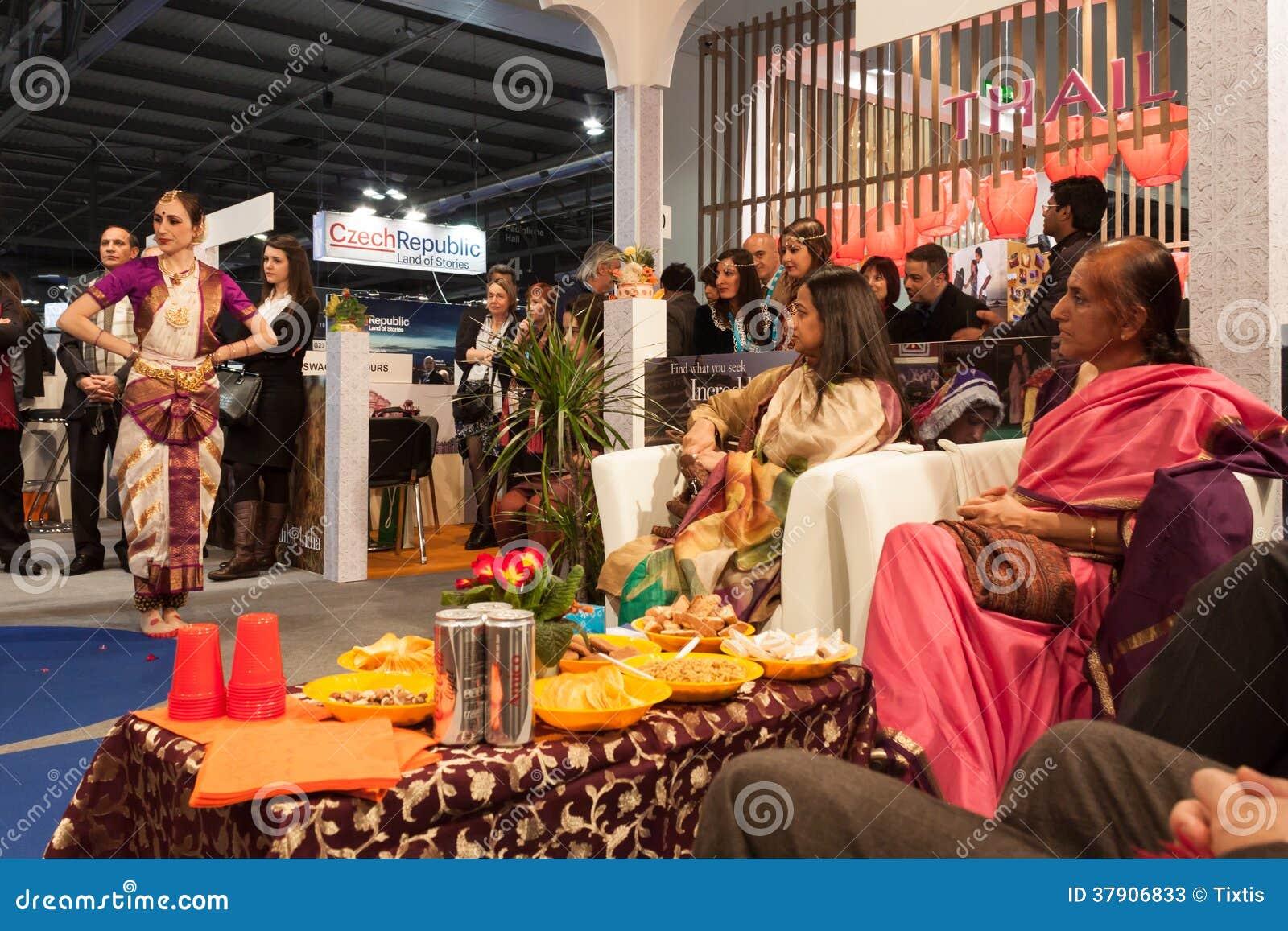 Indian Dancers Performing At Bit 2014, International ...
