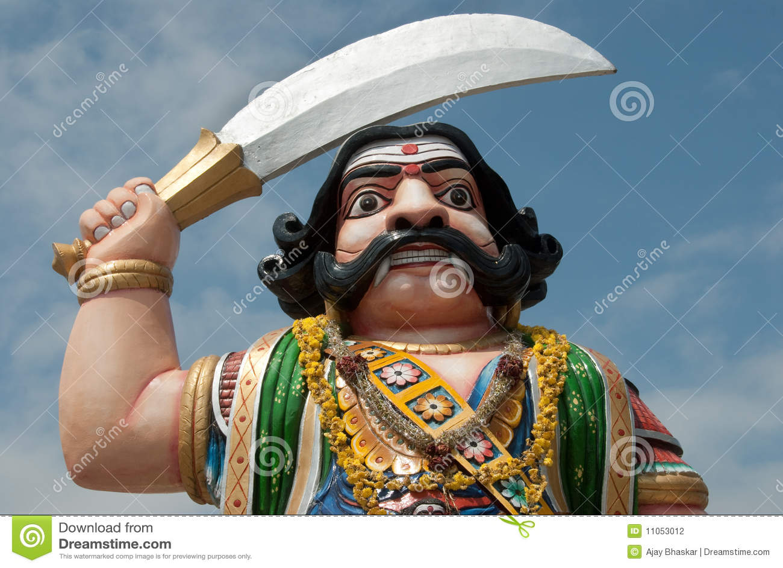 Indian Demon Stock Photo Image Of Chamundi Evil Mythology 11053012