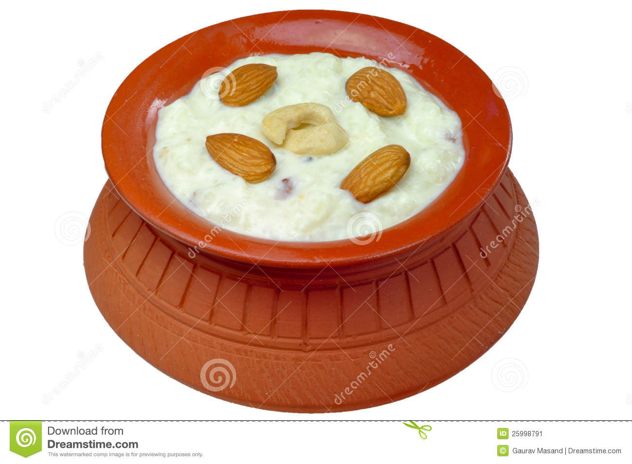 Kheer Indian Rice Pudding With Nuts And Saffron Recipe — Dishmaps