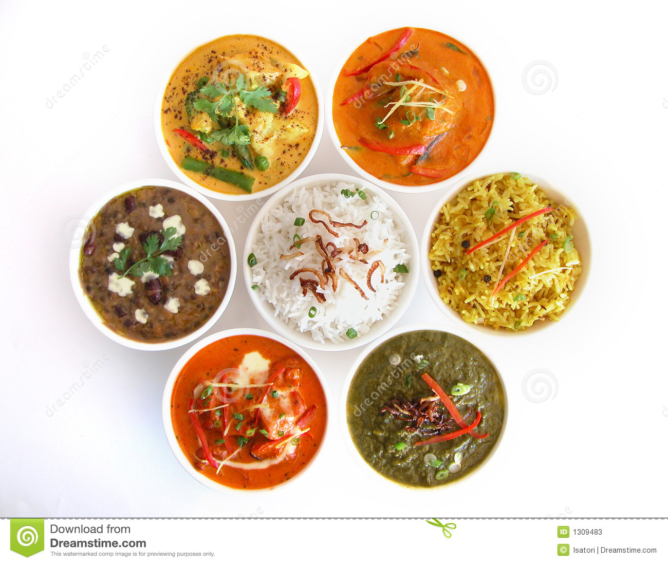 Indian dishes stock image image of indian beef menu for Art of indian cuisine