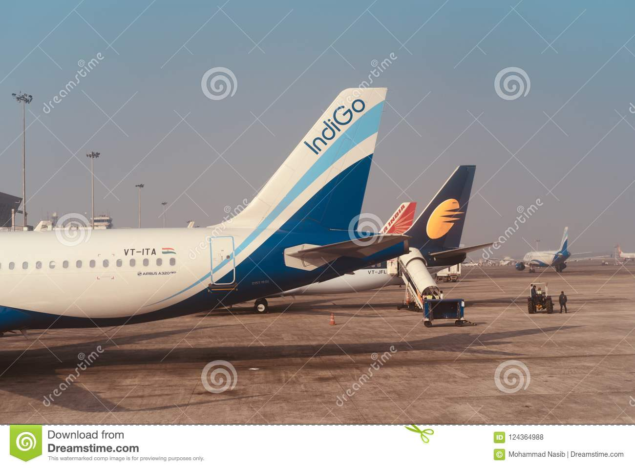 Download Multiple Aircrafts Parked Around An International Airport Terminal Unique Photo Editorial Stock Photo - Image of multiple, daylight: 124364988