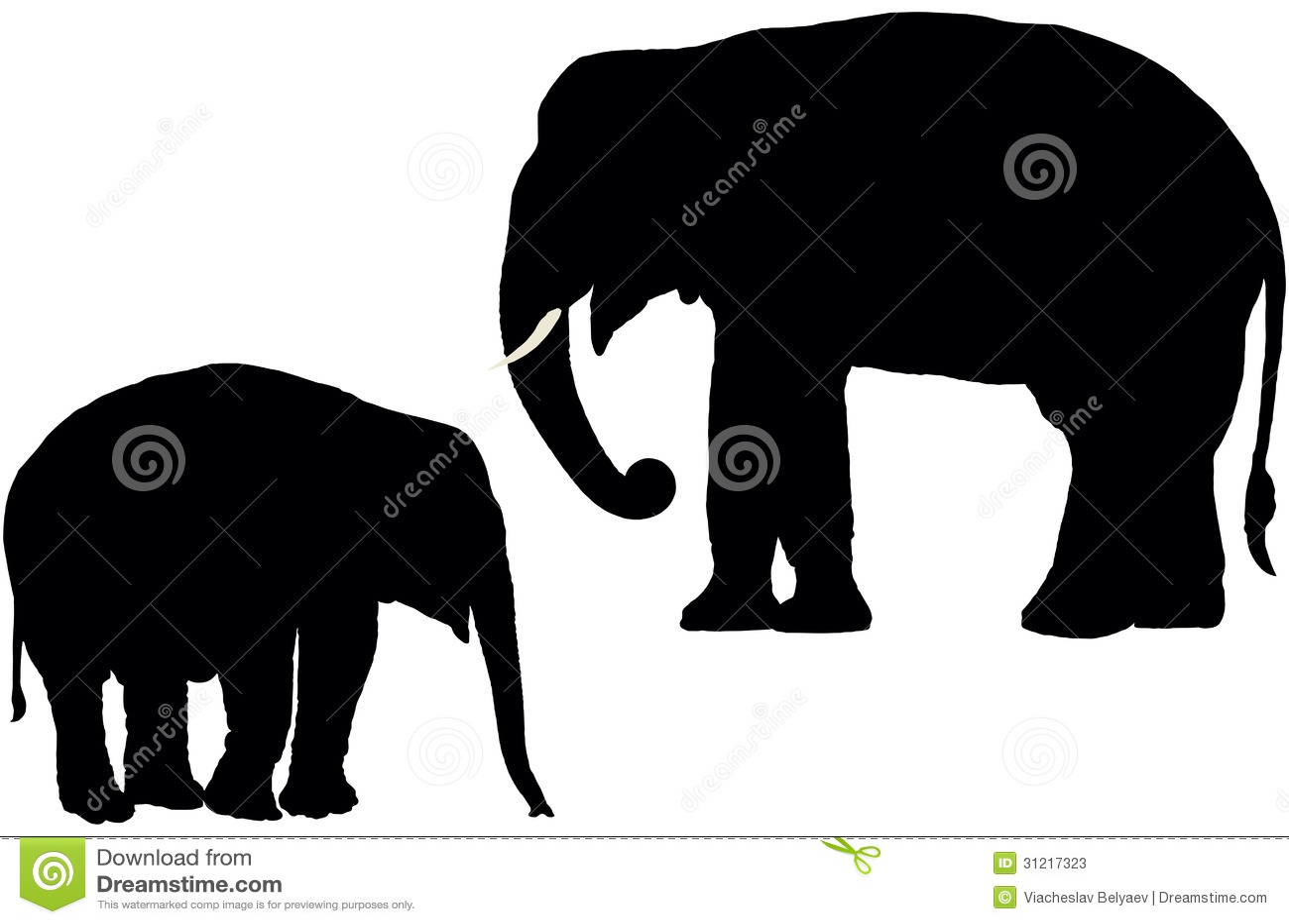 Indian Elephants Stock Photos - Image: 31217323