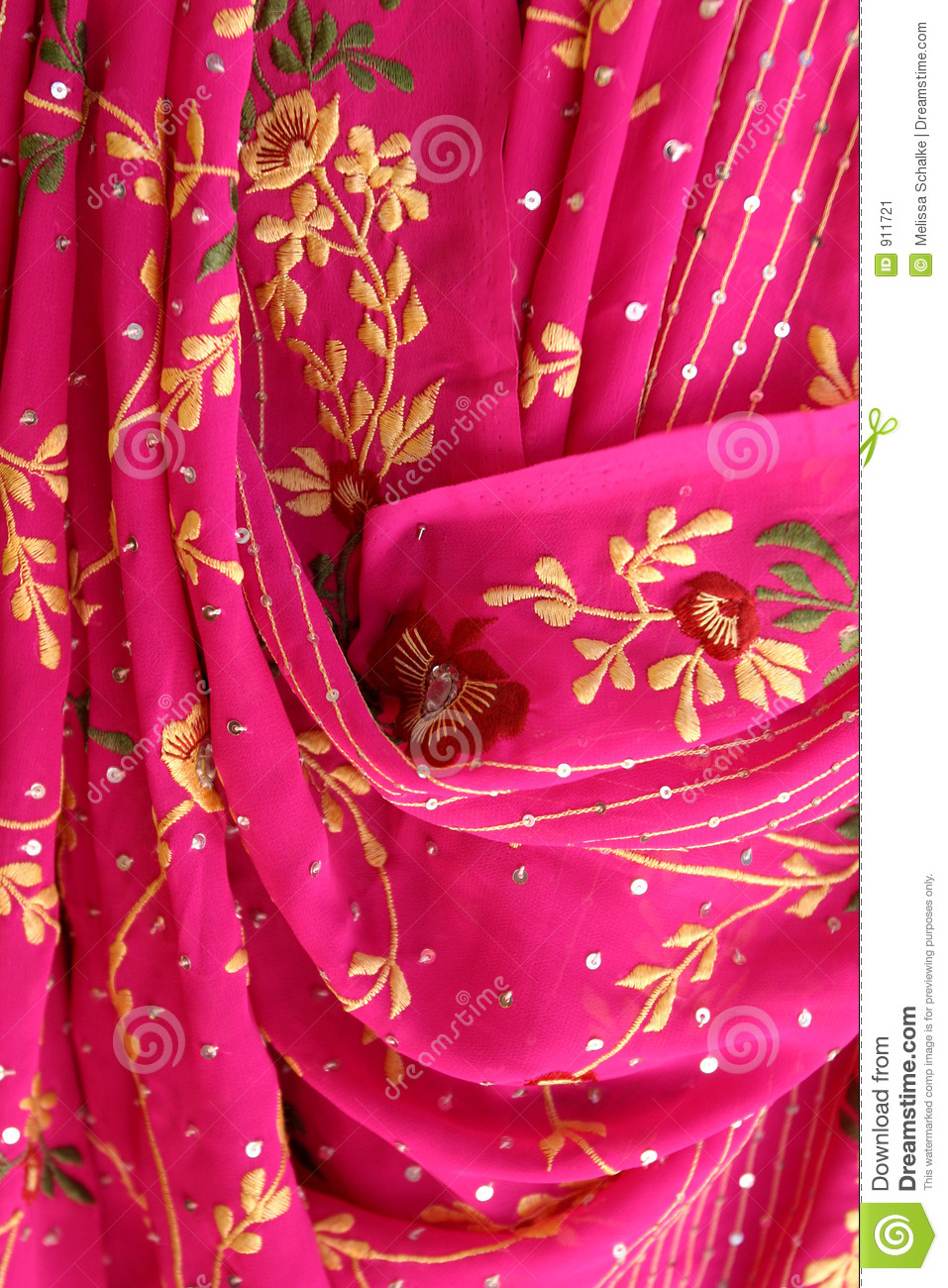 Indian Fabrics Stock Image - Image: 911721
