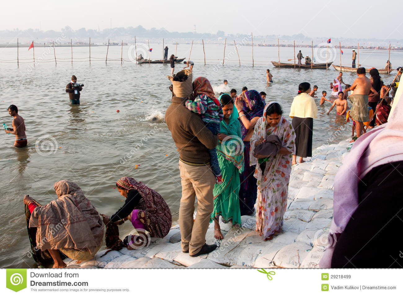 Desi Girls Bathing In River