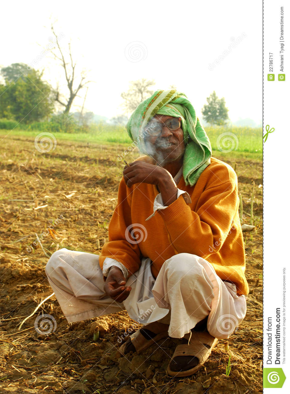 Indian Farmer Editorial Photography - Image: 22786717