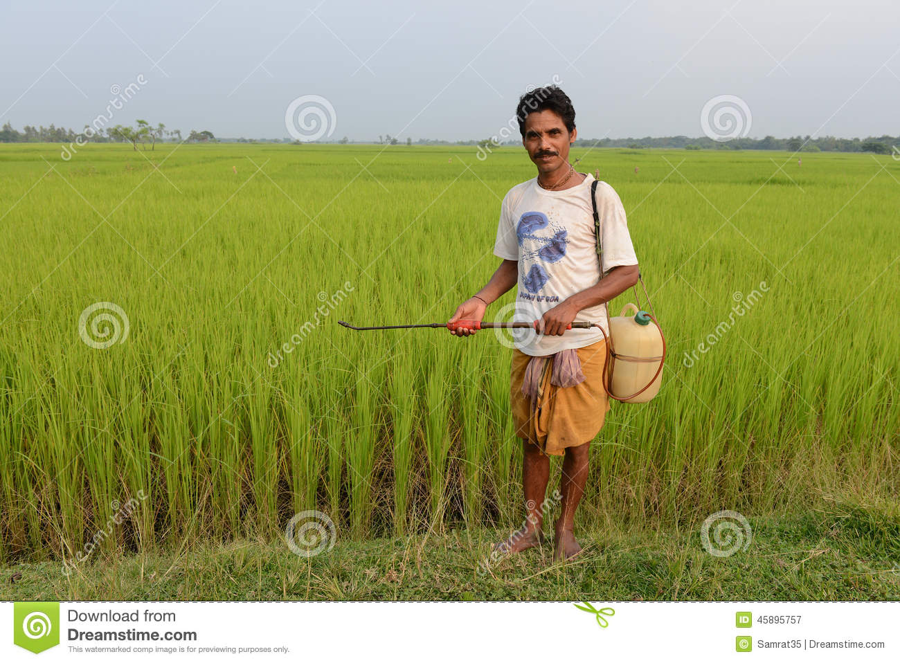Indian Farmer Editorial Photography - Image: 45895757