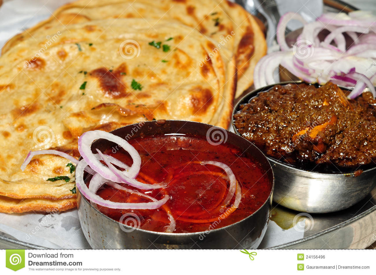 Indian Food Stock Photo Image Of Chili Korma Curry 24156496