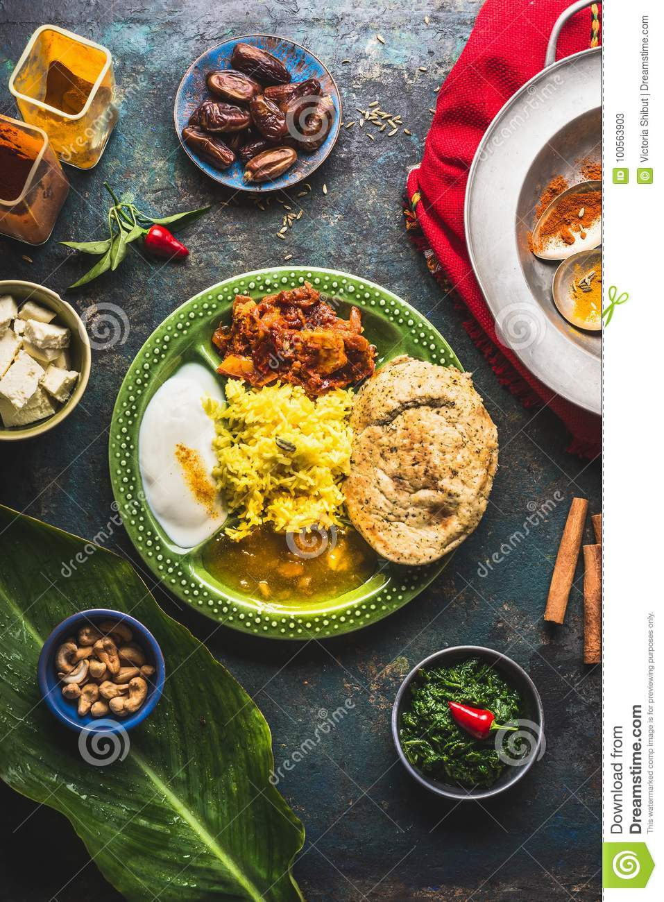 Indian food dish with paneer cheese curries rice naan bread download indian food dish with paneer cheese curries rice naan bread samosas forumfinder Gallery